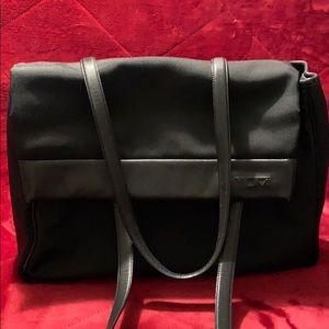 TUMI Black Shoulder Business Tote/ Laptop Bag